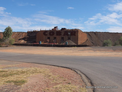 Cobar sign refledts its mining history