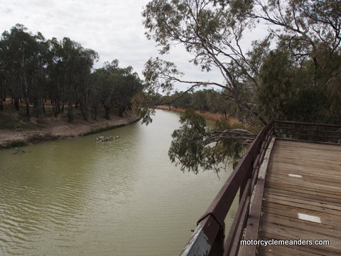 Port Precinct on Darling River at Bourke