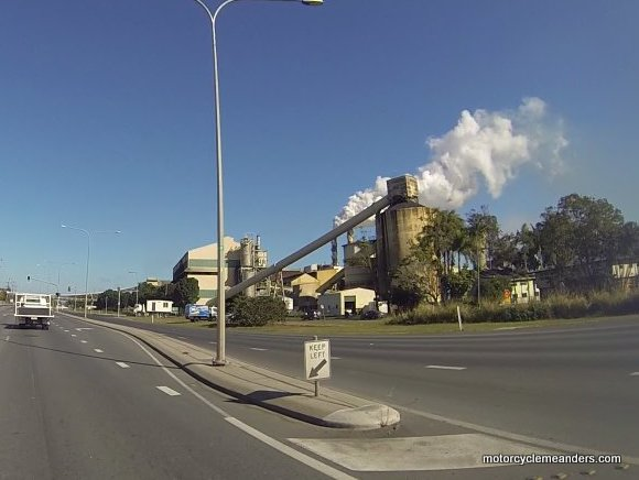 Sugar Cane Mill near Mackay