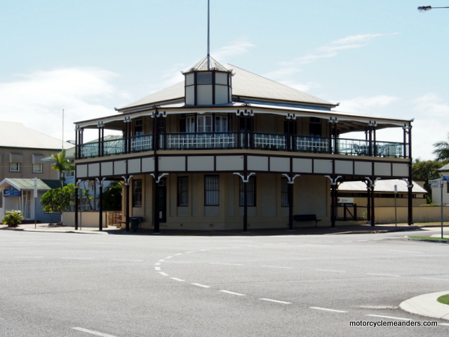 Hotel in Bowen used for movie Australia