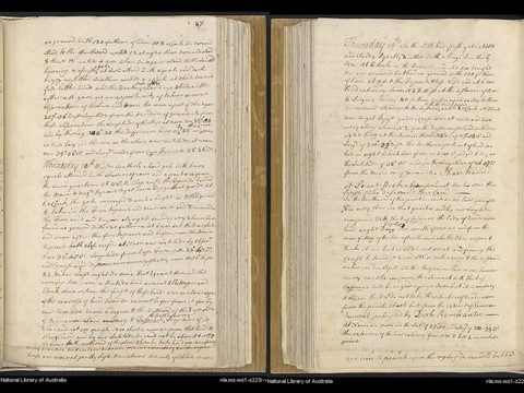 Cook Journal on 18-19 April 1770