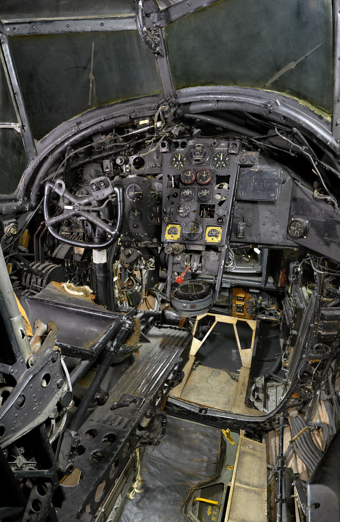 Cockpit of Wellington