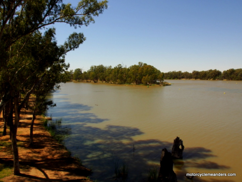 The Confluence of Murray and Darling Rivers
