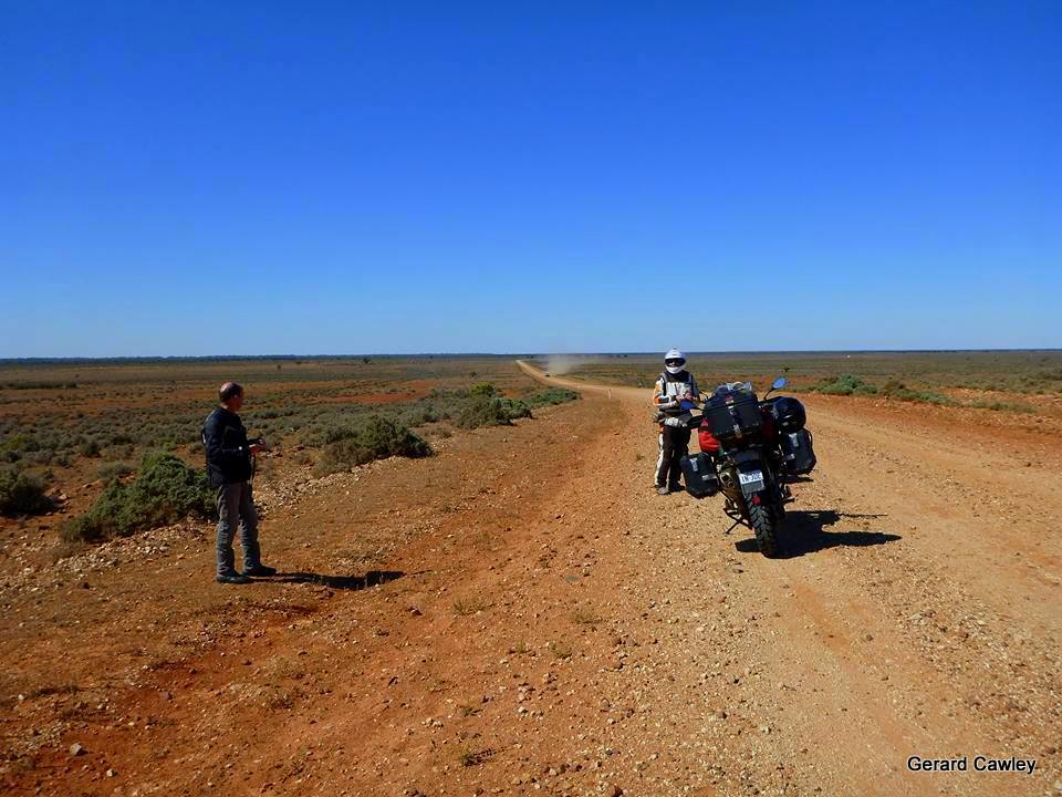 Road from Wilcannia