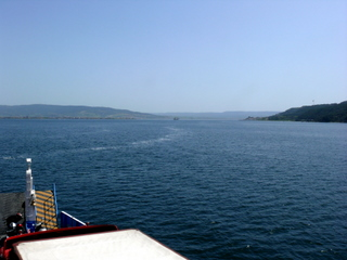 Dardanelles, looking south from The Narrows