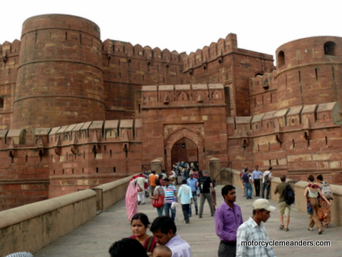 Gate to Agra Fort