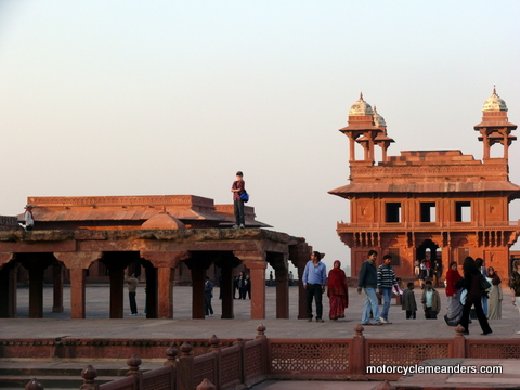 Part of Palace at Fatehpur Sikri