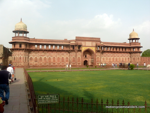 Jahangirs Palace in Agra Fort