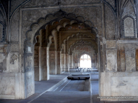 Emperors Chambers in Red Fort