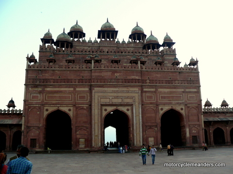 Gateway to Mosque at Fatehpur Sikri