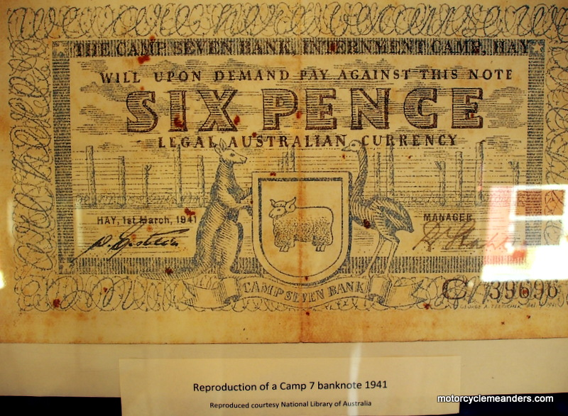 Camp banknote