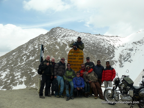 Our team at Khardung La