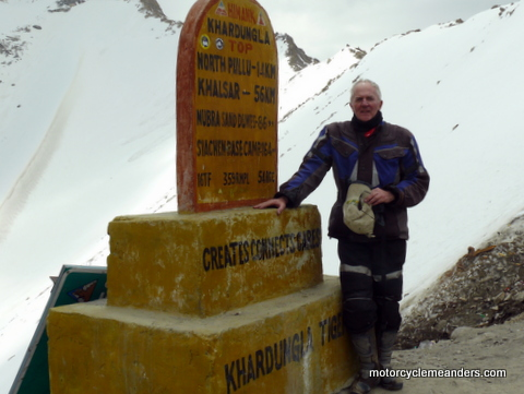 On top of the world in Himalaya
