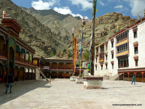 Courtyard at Hemis Gompa