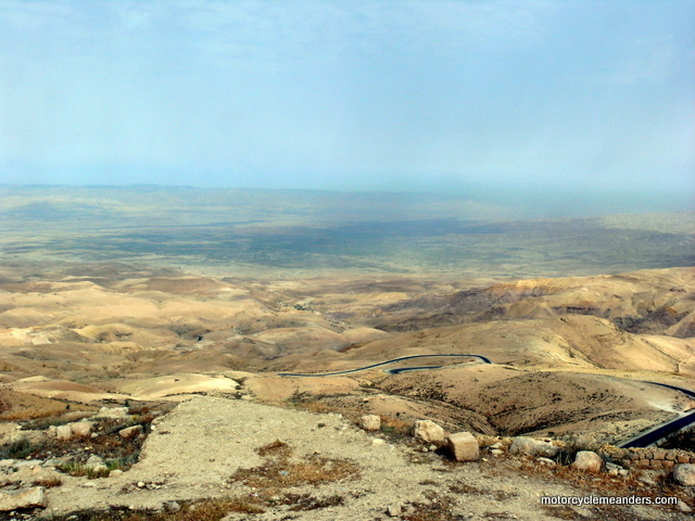 View of the Promised Land from Mt Nebo