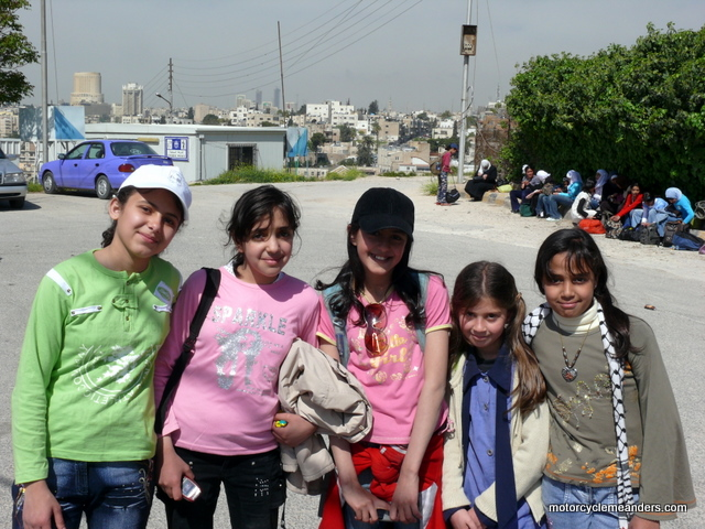 School girls in Amman