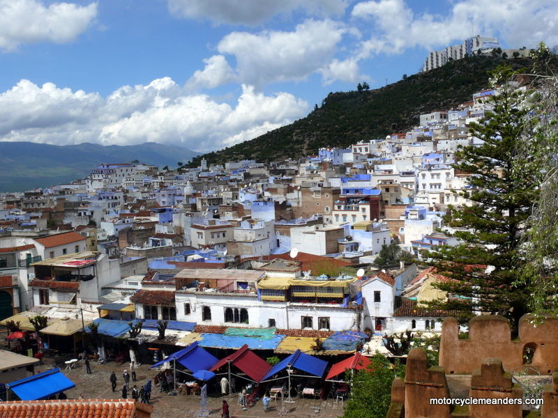 Chefchaouen from Kasbah
