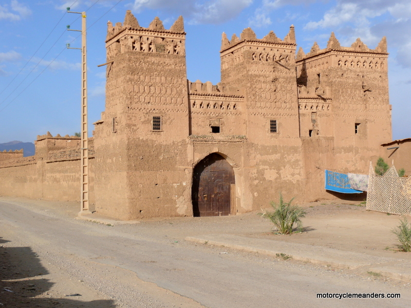 Kasbah of old walled city of Agdz