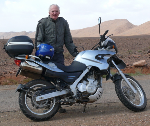 F650GS (single), Morocco