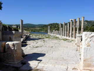 Ruins in the ancient city of Patara