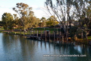 Port of Wentworth on Darling River