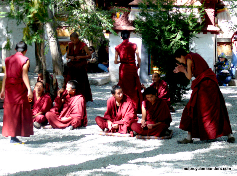 Monks at Sera Monastery Lhasa