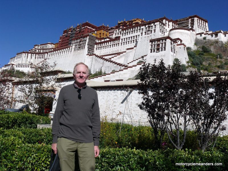 At Potala Palace Lhasa