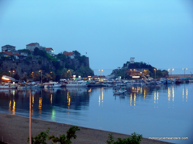 Amasra in the evening