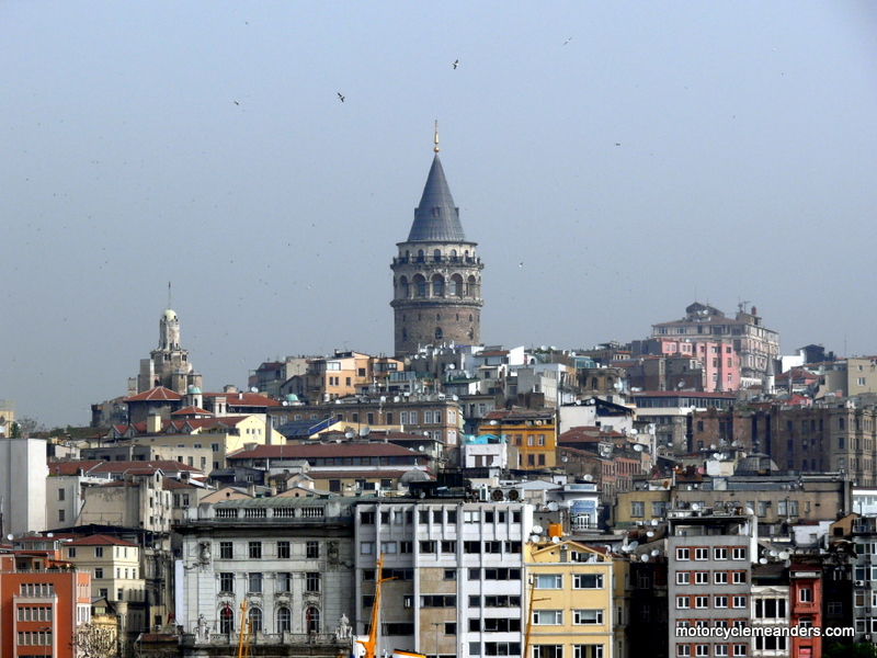 Galata Tower in new city