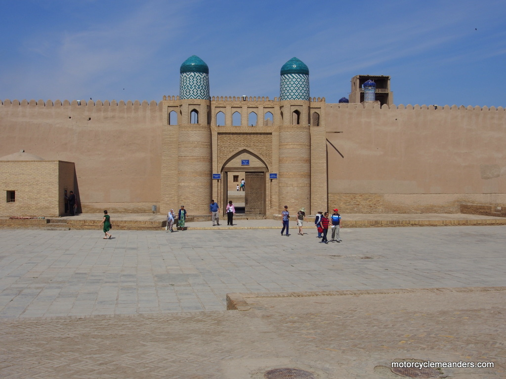 Gate to Palace, Khiva citadel