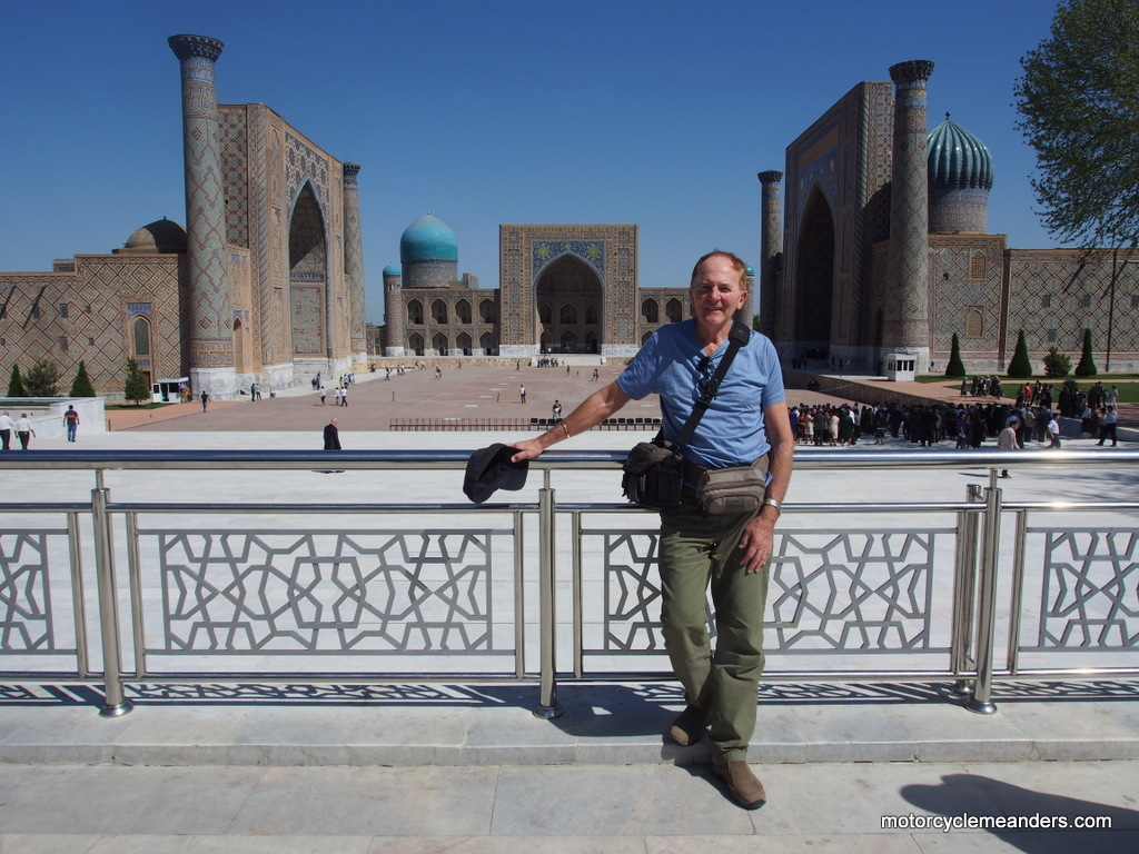 At Registan Square, Samarkand