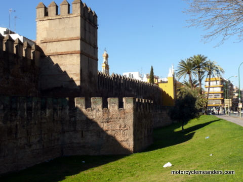 Old walls, Seville
