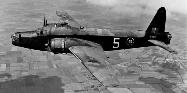 Vickers Wellington Twin Engine Bomber