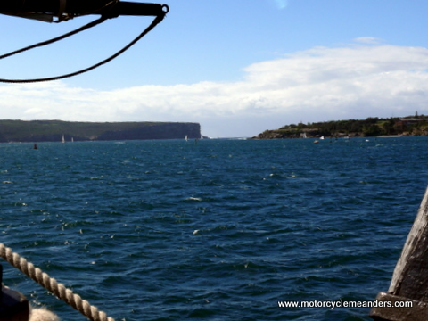 Towards the Sydney Heads