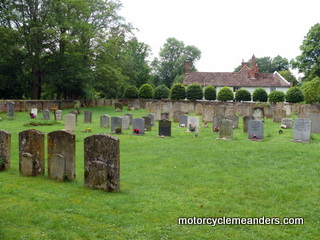Church yard of All Saints, Kirtling