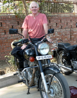 My first introduction to the Royal Enfield