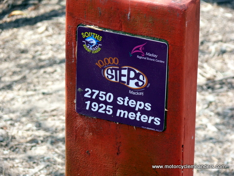 Sign at Mackay: meters or metres?