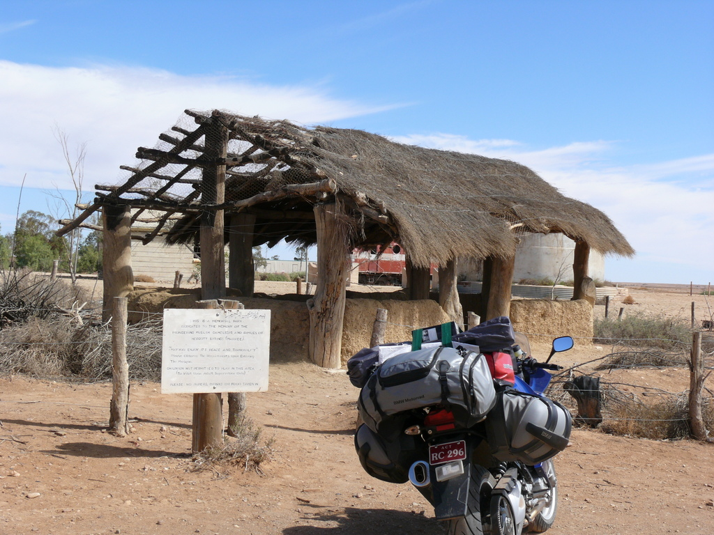 Australias first mosque at Marree SA