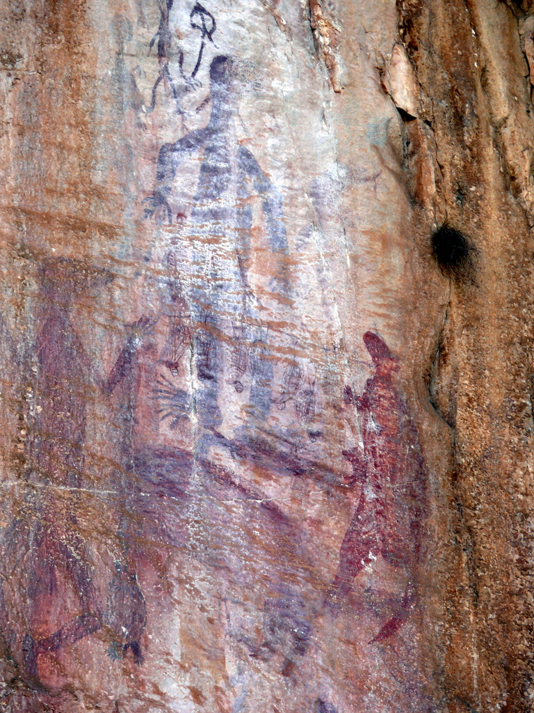 Rock Painting at Nitmiluk