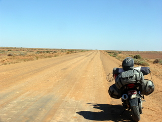 Road to Coober Pedy