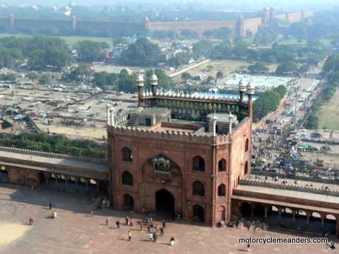 Jamid Masjid and Red Fort