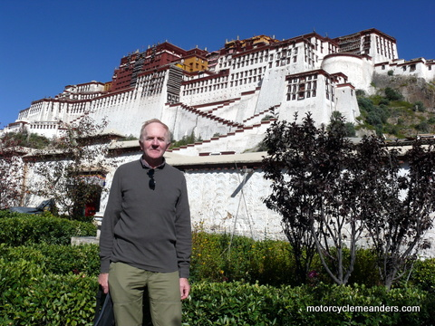 At Potala Palace, Lhasa